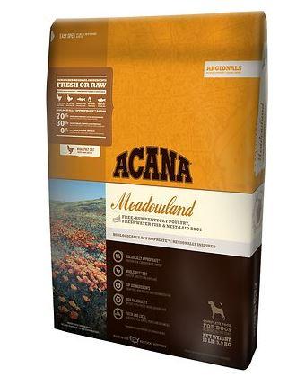 Acana Meadowland Regional Formula Dry Dog Food