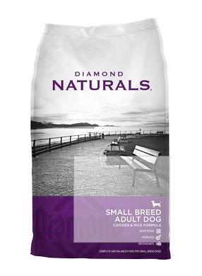 Diamond Naturals Dry Food for Adult Dogs: Small Breed Chicken and Rice Formula​​​​