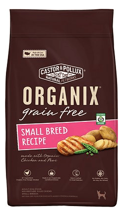 castor-pollux-organix-grain-free-small-breed-recipe