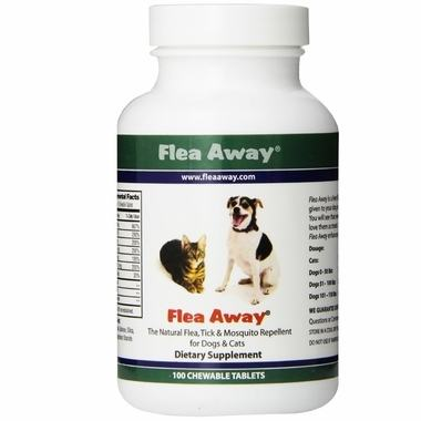 Flea Away Natural Flea, Tick & Mosquito Repellent For Dogs