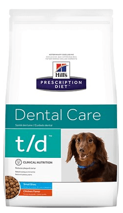 Hills Prescription Diet Dental Care Chicken Flavor Small Bites Dry Dog Food