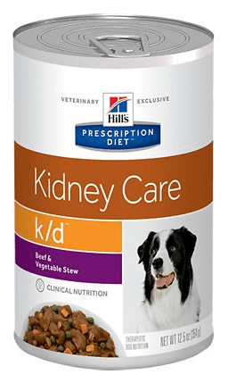 Hills Prescription Diet Kidney Care Beef Vegetable Stew Canned Dog Food
