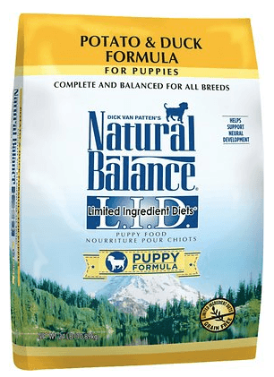 Natural Balance L.I.D. Limited Ingredient Diets Puppy Formula Potato Duck Formula Dry Dog Food