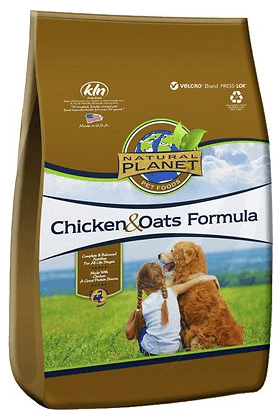 Natural Planet Chicken & Oats Formula