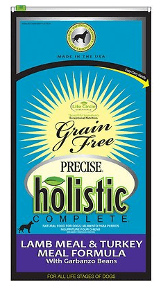 precise-holistic-complete-lamb-meal-turkey-meal-garbanzo-bean-formula-grain-free-dry-dog-food