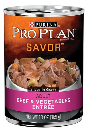 purina-pro-plan-savor-adult-beef-vegetables-entree-slices-in-gravy-canned-dog-food