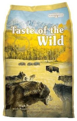 Taste of the Wild High Prairie Dry Dog Food