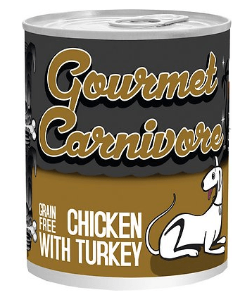 Tiki Dog Gourmet Carnivore Chicken with Turkey Canned Dog Food