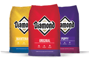 blue diamond dog food reviews