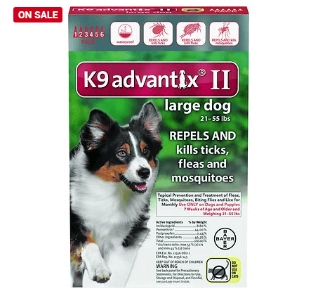 K9 Advantix II Flea & Tick Treatment For Dogs