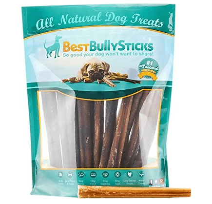 Best Bully Sticks Odor-Free 6 Bully Sticks Dog Treats