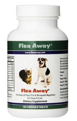 Flea Away Natural Flea Tick Mosquito Repellent for Dogs
