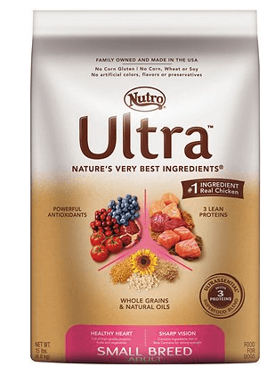 Nutro Ultra Small Breed Adult Dry Dog Food