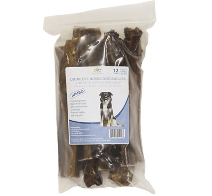 Pet's Choice Pharmaceuticals Odorless Jumbo Bully Sticks
