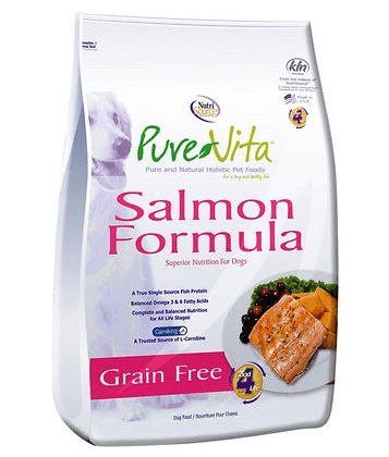 PureVita Salmon & Peas Formula Grain-Free Dry Dog Food