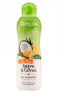 TropiClean Opti Neem Flea & Tick Shampoo For Dogs