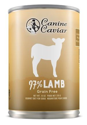 Canine Caviar 97% Lamb Grain-Free Canned Dog Food
