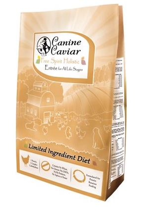 Canine Caviar Limited Ingredient Diet Free Spirit Holistic Entrée Dry Dog Food
