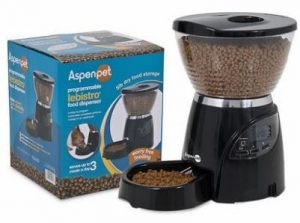 Aspen Pet LeBistro Portion Control Programmable Pet Feeder