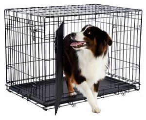 Frisco Heavy Duty Double Door Dog Crate