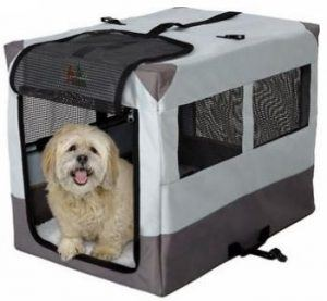 MidWest Canine Camper Sportable Tent Dog Crate 1