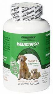 NutraMax Welactin Canine Omega-3 Softgel Capsules Dog Supplement