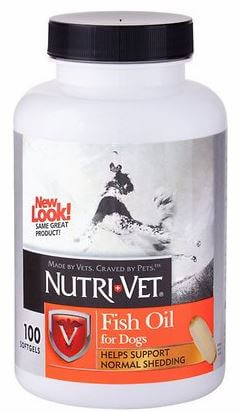 Nutri-Vet Fish Oil Dog Softgels