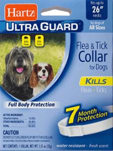 HARTZ Water Resistant 7 Month Protection Flea & Tick Collar
