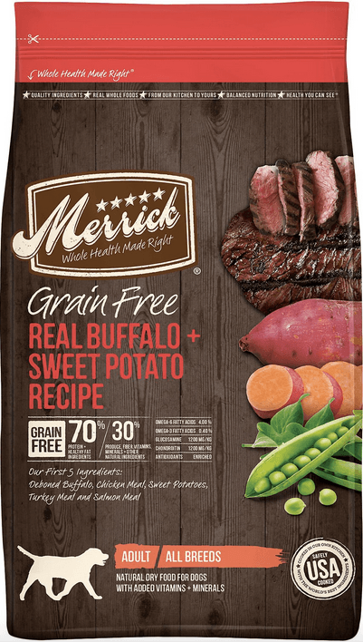 Merrick Real Buffalo Dog Food