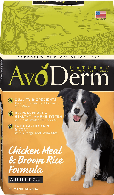 AvoDerm Natural Chicken Formula Doberman