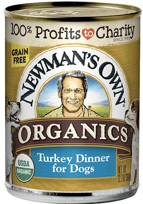 Newmans Own Organic Foof Turkey for Doberman