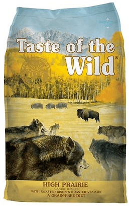 Taste of the Wild Dry Dog Food, Hi Prairie Canine Formula with Roasted Bison & Venison