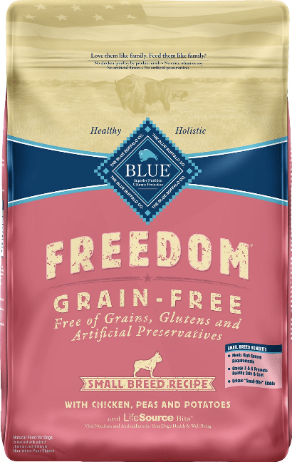 Blue Buffalo Freedom Grain Free Recipe for Small Dogs