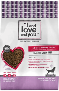 I and love and you dry dog food