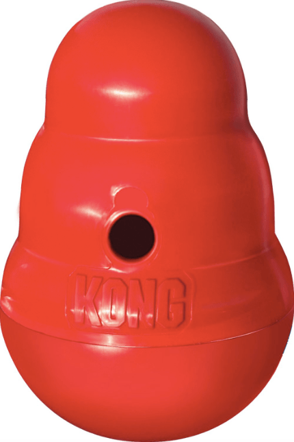 KONG Wobbler Treat Dispensing Toy