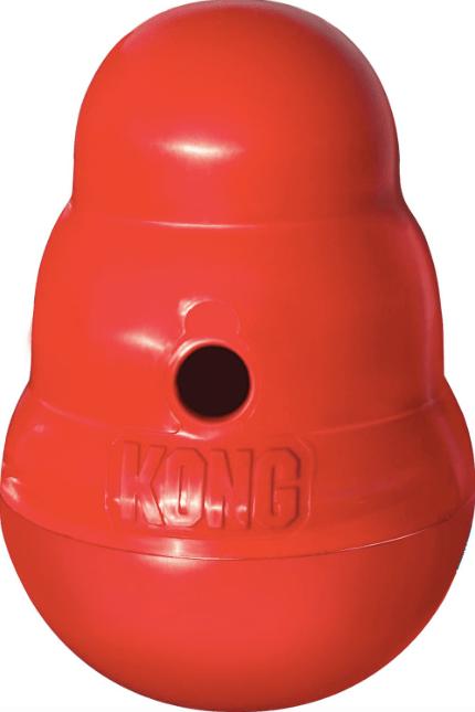 KONG Wobbler Treat Dispensing Toy