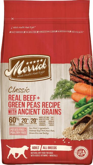 Merrick Classic Real Beef