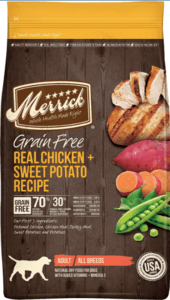 Merrick Grain-Free Chicken & Sweet Potato