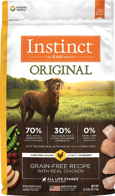 Instinct Grain-Free by Nature's Variety Original Grain-Free Recipe