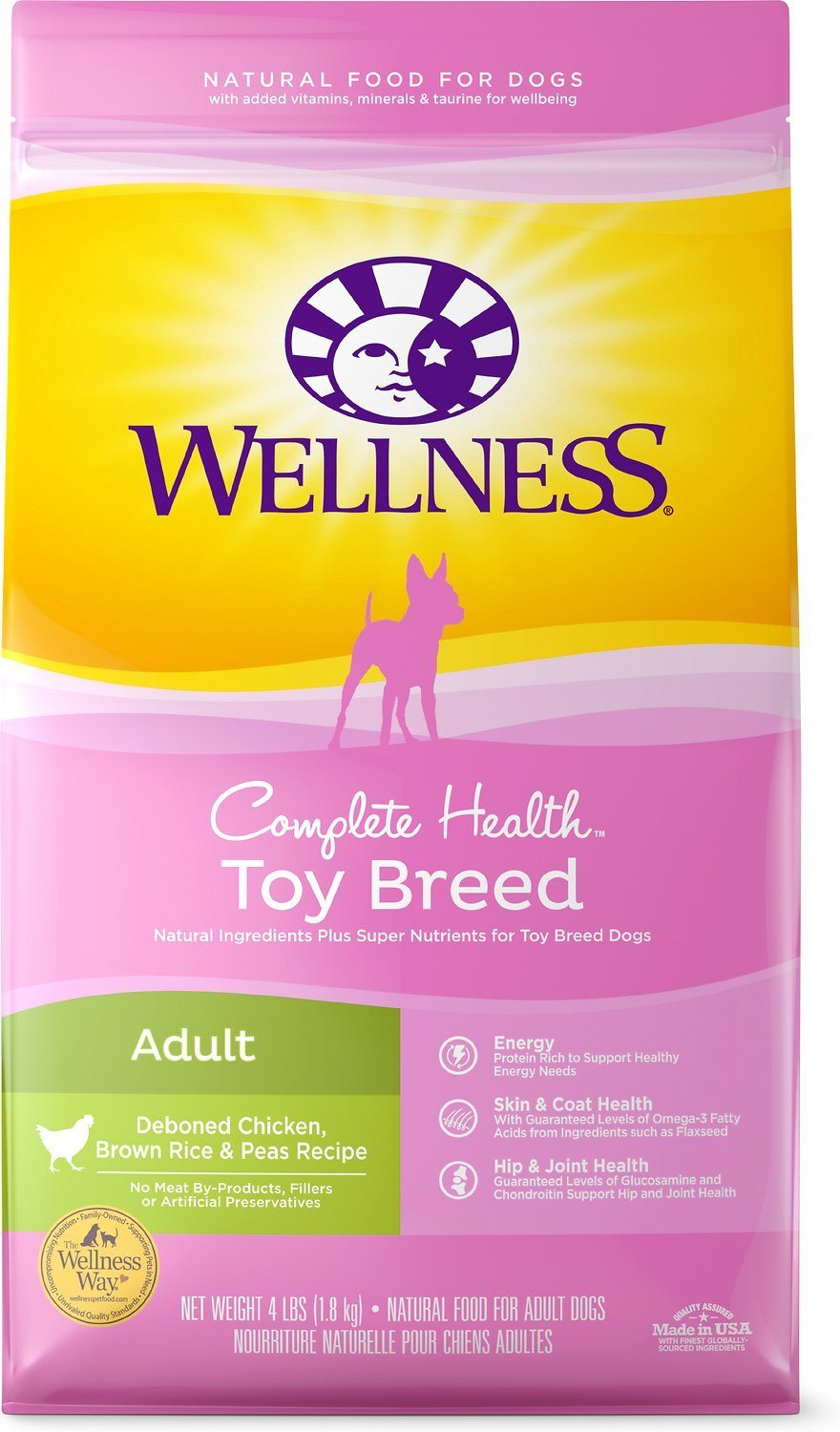 Wellness Healthy Weight for Toy Breeds
