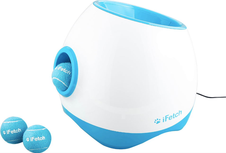 iFetch automatic ball launcher for medium and large dogs