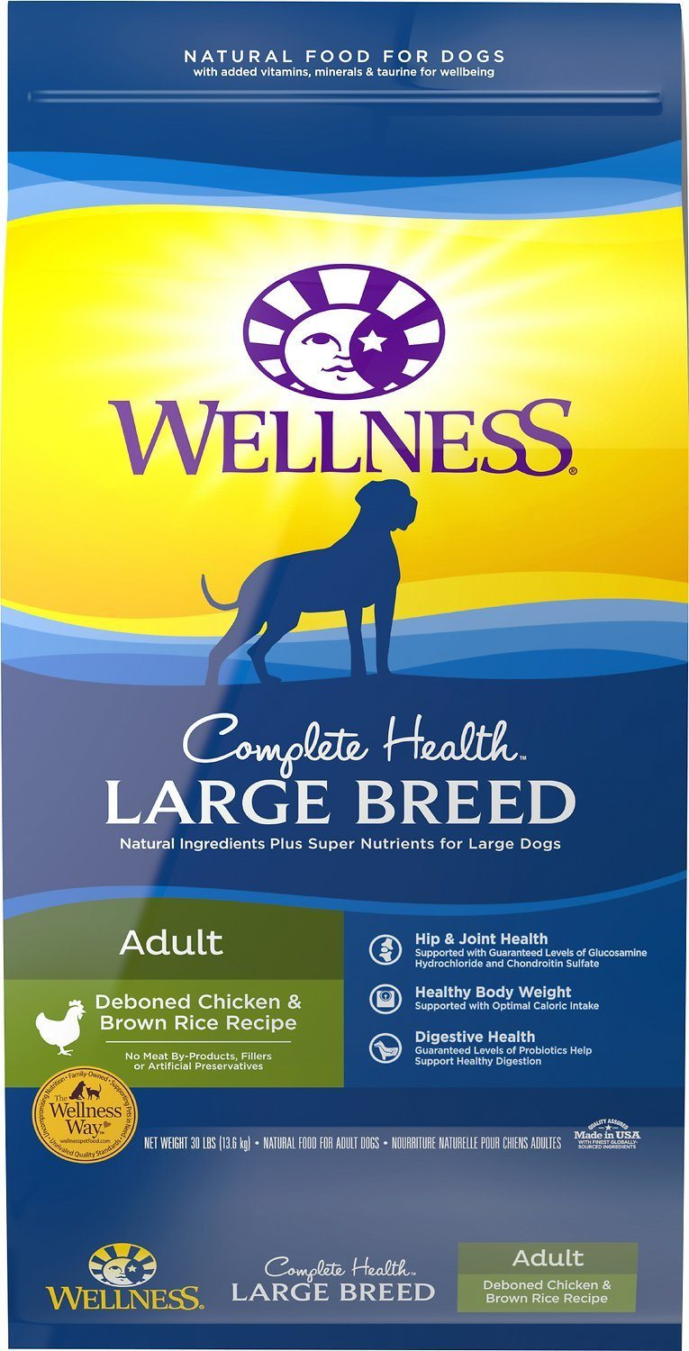wellnes large breed deboned chicken