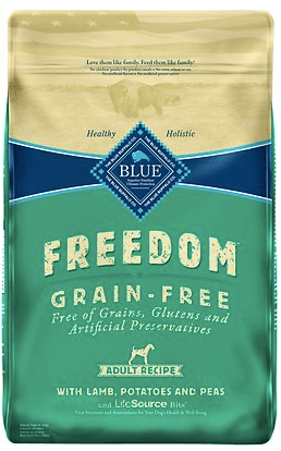Blue Buffalo Freedom Adult Lamb Grain-Free Dry Dog Food