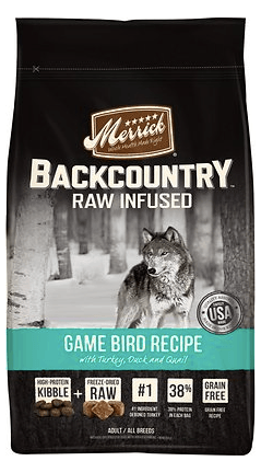 Merrick Backcountry Game Bird Recipe