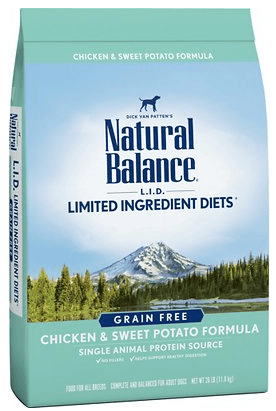Natural Balance Chicken & Sweet Potato Dry Dog Food
