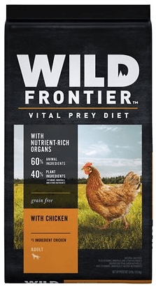 Nutro Wild Frontier Adult Open Valley Recipe Grain-Free Chicken Dry Dog Food