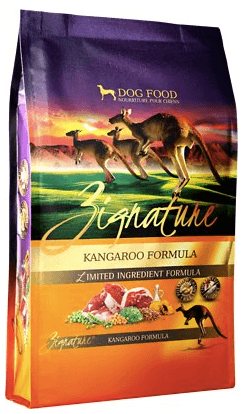 Zignature Kangaroo L.I. Dog Food