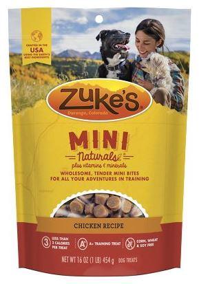 Zuke's Mini Naturals Chicken Recipe