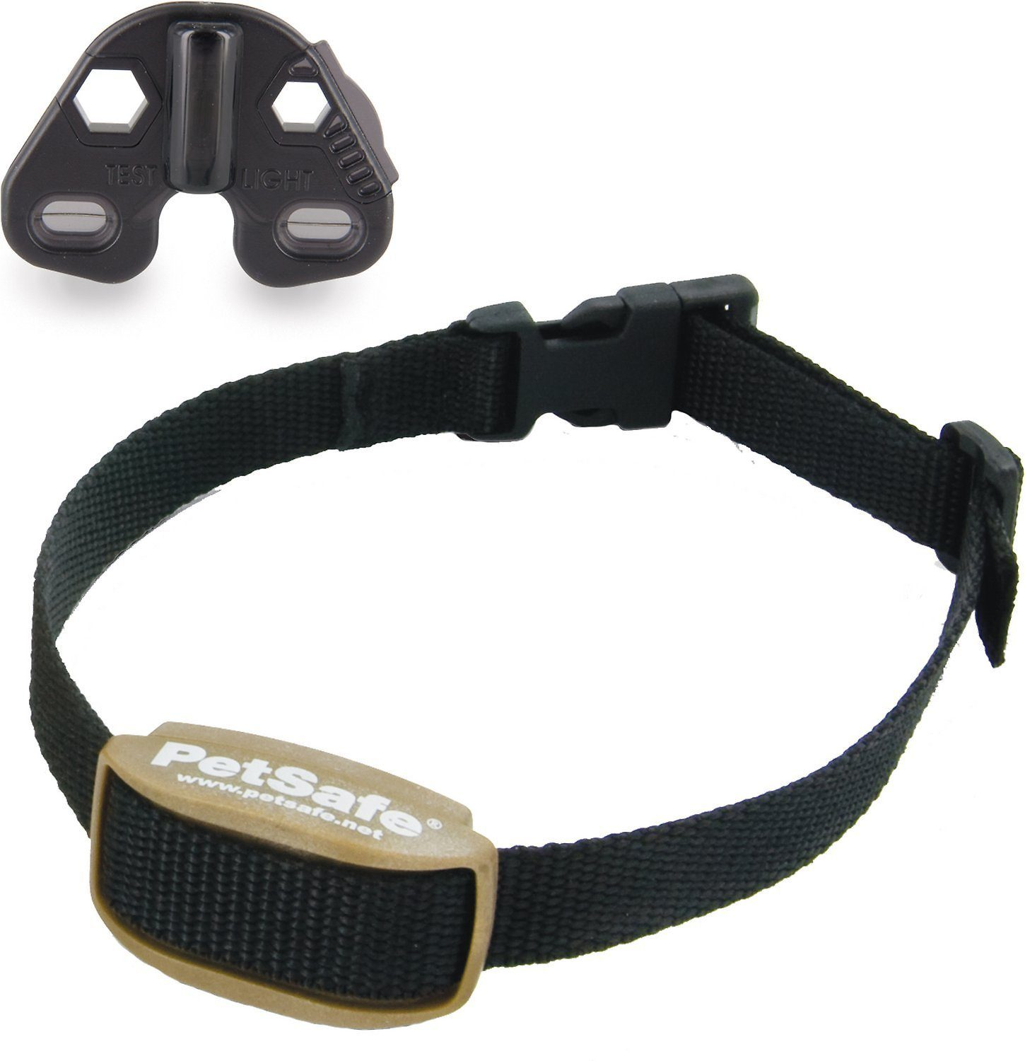 PetSafe Pawz Away Extra Indoor_Outdoor Collar, Black