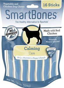 SmartBones Calming Care Chicken Chews Dog Treats